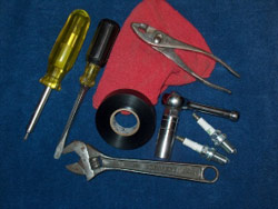 Pack a tool kit for snowmobile maintenance