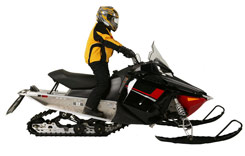 an analysis of a safe snowmobile rider