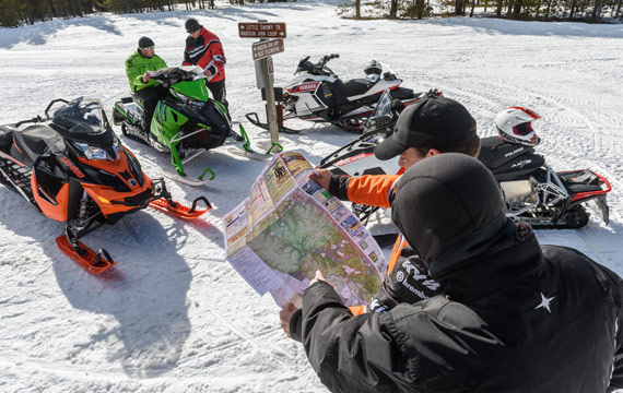Properly plan for your snowmobiling trip